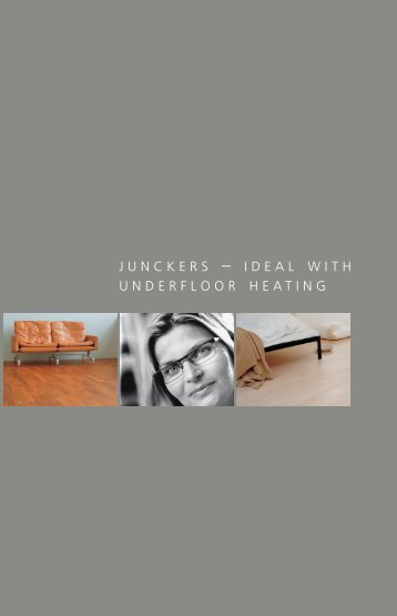 junckers and underfloor heating