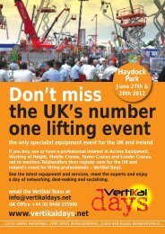 Don't miss the Uk's number one lifting event