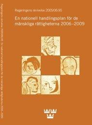 Skr. 2005/06:95 - Mänskliga rättigheter