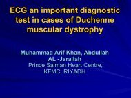 ECG an important diagnostic test in cases of Duchene muscular ...