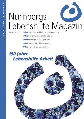 LHM 2-2012 FINI.indd - Lebenshilfe Nürnberg
