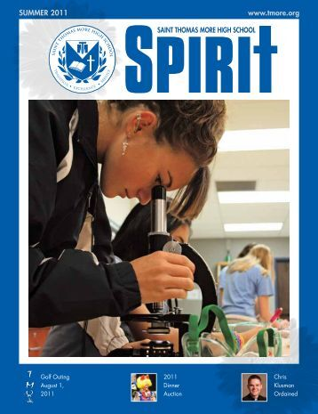 Summer 2011 Issue - Thomas More High School