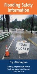 Flood Safety Tips - City of Birmingham