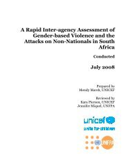 A Rapid Inter-agency Assessment of Gender-based Violence and ...