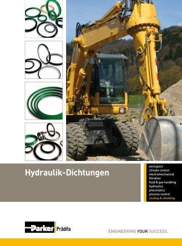 Hydraulik-Dichtungen - Parker