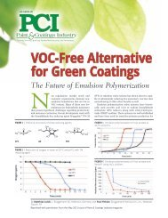 VOC-Free Alternative for Green Coatings - L. Brüggemann KG