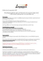 Örebro den 10 september 2009 Förtydligande gällande regler och ...