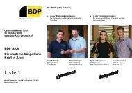 BDP Arch Die moderne bürgerliche Kraft in Arch - BDP Arch ...