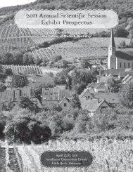 Download printable pdf of the Exhibit Prospectus - Arkansas State ...