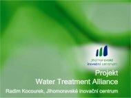 Projekt Water Treatment Alliance - CzechInvest