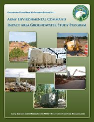 Groundwater Plume Maps & Information Booklet 2011 - Impact Area ...