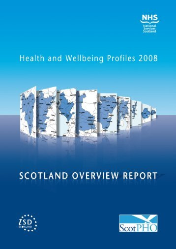 Health and Wellbeing Profiles 2008 - Scottish Public Health ...