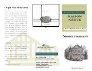 Construction neuve - St-Adolphe d'Howard