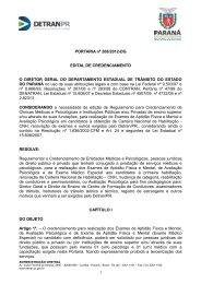 Portaria nº 208/2012-DG - Detran