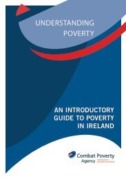 Understanding Poverty - Combat Poverty Agency