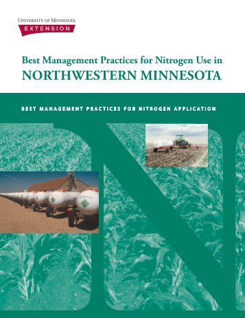 Best management practices for nitrogen use in northwestern ...