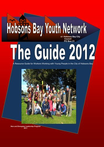 PO Box 21 ALTONA 3016 A Resource Guide for ... - Hobsons Bay
