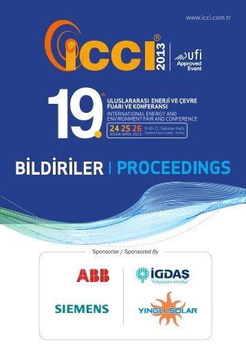 ICCI 2013 Proceedings