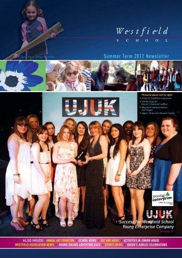 Summer Term 2012 Newsletter - Westfield School