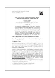Fast Four Heuristic Routing Algorithms in Optical Multistage ...