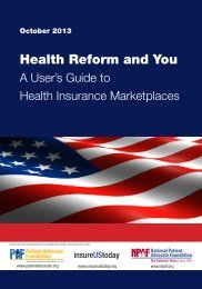 Health reform and you _JH3_0