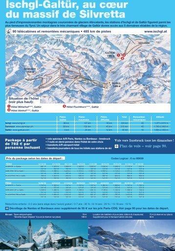 Ischgl-Galtür, au cœur du massif de Silvretta - Alpes Express