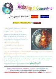 L'integrazione delle parti Maschile – Femminile - Centro Crisalide