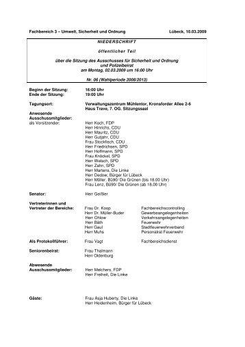 Download zu diesem Dokument (PDF) - Hansestadt LÜBECK
