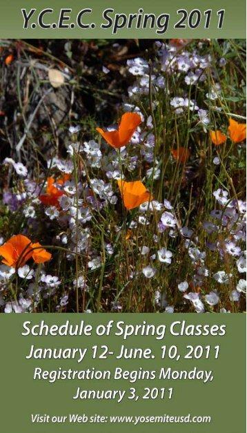 2011 YCEC Spring Catalog