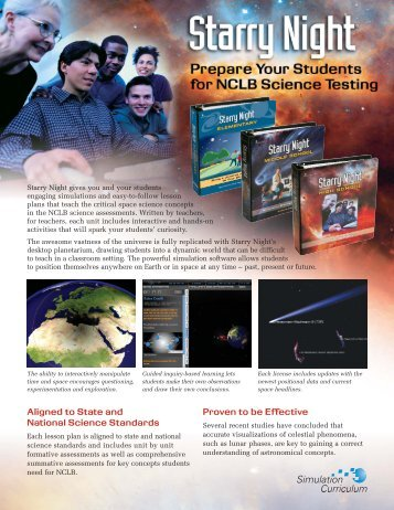 Final EDU Flyer 2009 - Starry Night Education