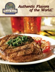 Trade East® Spices & Seasonings - Perkins