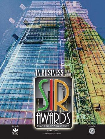 SIR Awards - Las Vegas Sun