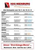 HERREN 1 - Lehrter SV 1 (19.30 Uhr) - HSG Nienburg - Page 2