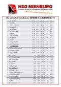 HERREN 1 - Lehrter SV 1 (19.30 Uhr) - HSG Nienburg - Page 3