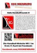 HERREN 1 - Lehrter SV 1 (19.30 Uhr) - HSG Nienburg - Page 4