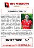 HERREN 1 - Lehrter SV 1 (19.30 Uhr) - HSG Nienburg - Page 5