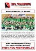 HERREN 1 - Lehrter SV 1 (19.30 Uhr) - HSG Nienburg - Page 6