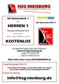 HERREN 1 - Lehrter SV 1 (19.30 Uhr) - HSG Nienburg - Page 7