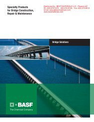 Bridge and Road Repair Products - Best Materials