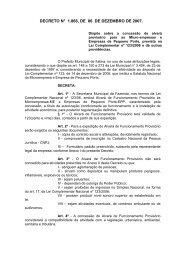 DECRETO N° , DE DE JANEIRO DE 2004 - Fundep