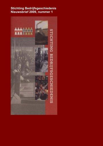 Nieuwsbrief - Nederlandsch Economisch-Historisch Archief