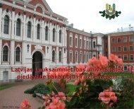Latvijas Lauksaimniecības universitātes piedāvātie ... - LIAA
