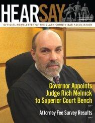 Feb. '10 cover - Clark County Bar Association