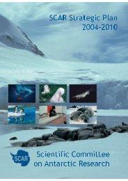 SCAR Strategic Plan 2004–2010 Scientific Committee on Antarctic ...