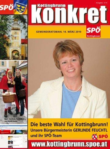 Die beste Wahl für Kottingbrunn! Unsere ... - SPÖ Kottingbrunn