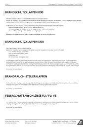 Warengruppe Brandschutz - Aumayr GmbH