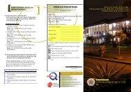 leaflet kegiatan pelatihan dan magang di KJM UGM