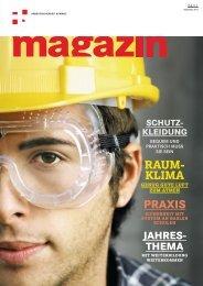 Magazin Arbeitssicherheit Schweiz 4/2011