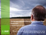 Holistic sustainability assessment of winter oilseed rape ... - Inra