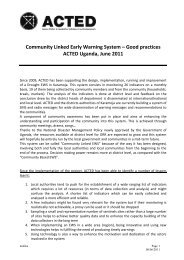 Community Linked Early Warning System – Good ... - PreventionWeb